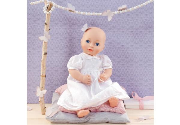 ab 3 Jahren Zapf Dolly Moda Taufkleid 38-46 cm Puppen & Zubehör