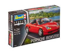 REVELL 07690 Modellbausatz Porsche Boxster 1:24, ab 10 Jahre