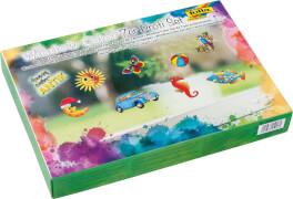 Folia - Window Color Funny Color Antik, Fenstermalfarben Profi Set, 7-teilig