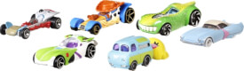 Mattel GCY52 Hot Wheels Toy Story Character Car sortiert
