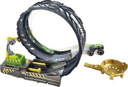 Mattel GKY00 Hot Wheels Monster Trucks Monster Loop Spielset
