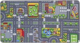 City Spielteppich 80x150 cm