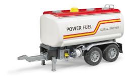 Bruder 03925 LKW Tank-Anhänger, ab 3 Jahren, Maße: 48,5 x 17,8 x 23,6 cm, Plastik & Kunststoff