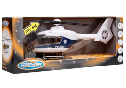 Speedzone D/C Helikopter Licht und Sound, 1:48, 3-fach sortiert