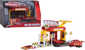 Majorette Creatix Airport Rescue Playset+1 Vehicle
