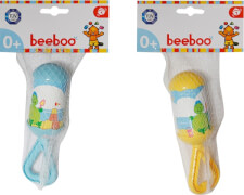 Beeboo Baby Rassel mit Griff, 2-fach sortiert