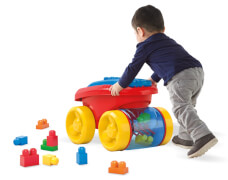Mattel Mega Bloks First Builders Block Picker Classic