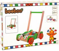 Beeboo Laufwagen mit Bauklötzen, 20 Stück