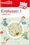miniLÜK Erstlesen 1, Lernheft, von 6 - 8 Jahren