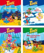 Nelson-Minibücher,Tinti 1-4,sortiert in Schachtel,  sie bekommen nur ein Buch (nicht frei wählbar) 20 Seiten, für Kinder ab 3 Ja