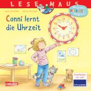 LESEMAUS 190: Conni lernt die Uhrzeit