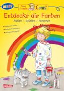 Conni Gelbe Reihe: MINT - Entdecke die Farben: Malen - Spielen - Experimentieren, Taschenbuch, ab 4 Jahre