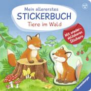 Ravensburger 43774 Dal Lago, Stickerbuch: Tiere im Wald