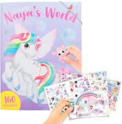 Create NayaŽs World Malbuch mit Stickern