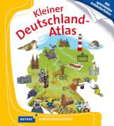 Meyers Kinderbibliothek Kleiner Deutschland-Atlas