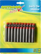 Outdoor active Darts für Shooter, 20 Stück