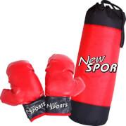 New Sports Boxsack + Boxhandschuhe