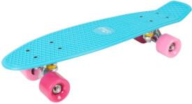 Hudora 12151 - Skateboard Retro Skate Wonders, türkis, ca. 57x15 cm, ab 6 Jahren