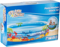 Splash & Fun Planschbecken Beach Fun # 175 cm