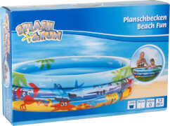 Splash & Fun Planschbecken Beach Fun, # 140 cm