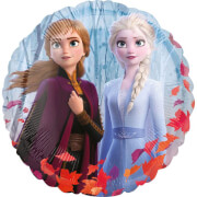 Frozen 2 Folienballon rund
