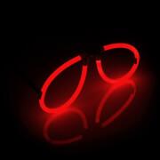 Knicklicht Spaßbrille, rot