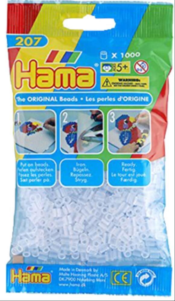 Symbol Der Marke Hama Perlen 1.000 Stück Weiß